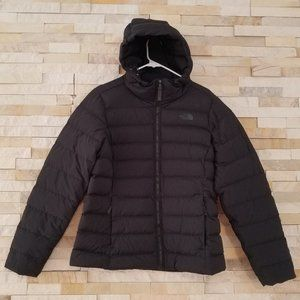 North Face Womens Large Black Winter Puffer Jacket